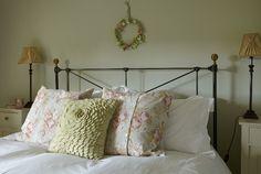 Explore the master bedroom Beautiful Bedrooms, Boho Interior Design, Duck Egg Blue Bedroom, Cottage Bedrooms Colors, Farrow Ball, Blue Bedroom, Bedroom Colors, Farrow And Ball Bedroom, Cottage Bedroom