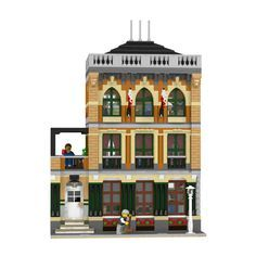 LEGO Modular Brooklyn School INSTRUCTIONS ONLY!!! 10182 10185 10218 10232 10243 #LEGO