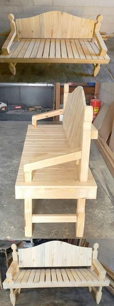 Lovely Wooden Pallet Sofa