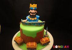 Als Clash Royale Birthday Cake Torta Clash Royale, 10th Birthday, Birthday Cake, Royal Cakes, Royal Party, Clash Of Clans, Fondant, Cupcake Cakes, Sweets