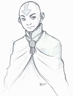 Just a 15 minutes of sketchy drawing. Will be in scraps~ I want Legend of Korra! Aang in fire nation outfit [link] art by me Aang from Avatar: The La. Sketches, Easy Drawings, Legend, Art Sketchbook, Drawings, Drawing Sketches, Character, Superhero Art, Avatar Airbender