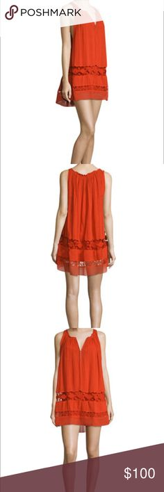 FREE PEOPLE COSTA BRAVA RED DRESS ❣️ SIZE S BNWT Brand new with tags and in original packaging! 100% Cotton Shell and Cotton Slip Free People COSTA BRAVA dress is a perfect flirty bohemian addition to your wardrobe. Size Small! ❣️❣️❣️ Free People Dresses