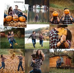 Fall Engagement Outfits, Engagement Photo Outfits, Engagement Couple, Couple Photoshoot Poses, Couple Photography Poses, Engagement Photography, Fall Couple Pictures, Save The Date Pictures, Pumpkin Engagement Pictures