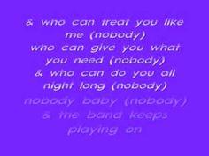 Keith Sweat-Nobody Lyrics - YouTube