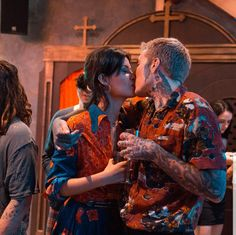 Alissa Salls and Oliver Sykes Oliver Sykes, Bring Me The Horizon, Star Wars, Bmth, Emo Bands, Emo Couples, Bring It On, Relationship Goals, Friendship