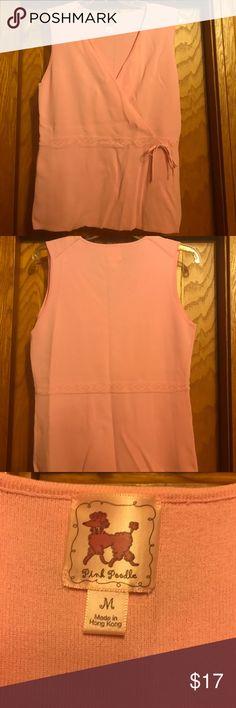 Pink Poodle tank top * size M * Light Pink Pink Poodle tank top * size M * Light Pink * So soft, feels like sweater tank Pink Poodle Tops Tank Tops