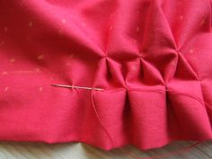HOW TO SMOCK –