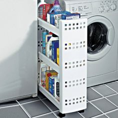 Optimize your small space & learn trick how to organize your dryer sheets, laundry room cabinet & other laundry room essentials Laundry Room Wall Decor, Laundry Room Remodel, Laundry Room Cabinets, Laundry Room Bathroom, Laundry Room Storage, Closet Storage, Locker Storage, Storage Shelves, Room Essentials