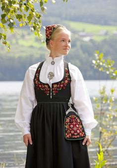 """- """"Beauty is the shadow of God on the universe. Swedish Girls, Frozen Costume, Adventure Style, Travel Clothes Women, Dresses For Work, Summer Dresses, Folk Costume, Dress Skirt, Diva"""