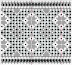 Forklebord, passende til linning 8 Types Of Embroidery, Learn Embroidery, Embroidery Patterns, Ancient Persia, Hardanger Embroidery, Satin Stitch, Bargello, Embroidery Techniques, Cool Patterns