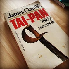 """""""Two-Pan"""" by James Clavell - part of his Asian Saga series  #booklover #books #reading #newread #buybooks"""