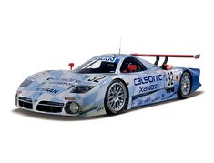 "Nissan R390 GT1(1998: R390)NISMO's ""Le Mans challenge"" continued for two years, 1995-96, but it is difficult to win at Le Mans with a production car like the Skyline. So from 1997 to 1999 Nissan took up the challenge using a purpose-built GT car. In 1998, the R390 GT1's second year at Le Mans, car No.32 (Hoshino, A. Suzuki, Kageyama) came in 3rd overall - Nissan's best result in this event."