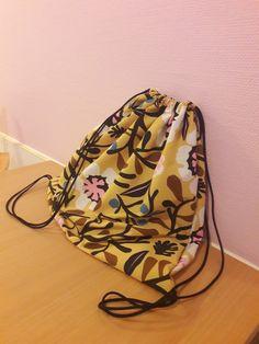 Marimekko, Drawstring Backpack, Backpacks, Bags, Fashion, Handbags, Moda, Fashion Styles, Backpack