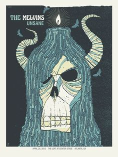 THE MELVINS / UNSANE « Limited Edition Gig Posters « Methane Studios