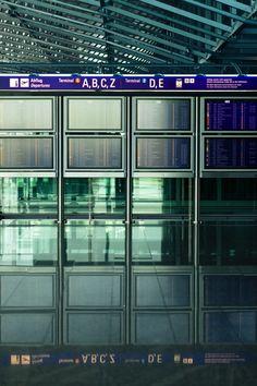 Departure Board, Frankfurt Airport