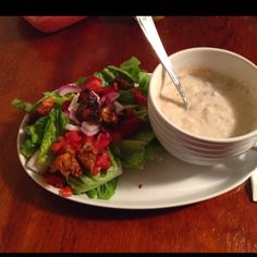 Apple Chips, Panera Bread, Soup And Salad, Copycat, Pilates, Don't Forget, Dressing, Detail, Meat
