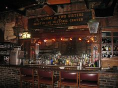 The Court of Two Sisters (bar),   New Orleans