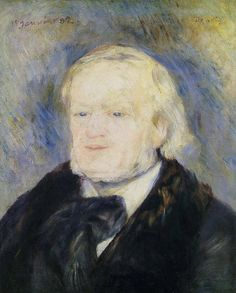 Pierre-Auguste Renoir - Richard Wagner, compositeur, 1882