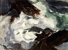 Andrew Wyeth - Roaring Reef (ca. 1951)