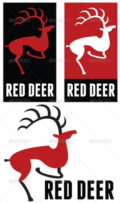 Red deer logo
