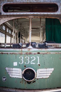 Old street car - Wonder if it's still there? (Red Hook, Brooklyn, NYC)