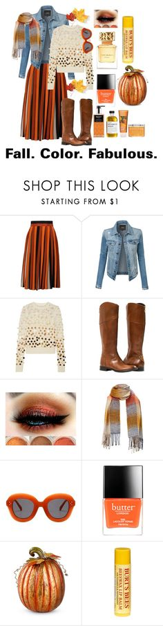 """""""Fall Fun"""" by sahaja123 ❤ liked on Polyvore featuring Givenchy, LE3NO, Marc Jacobs, Butter London, Improvements and Burt's Bees"""