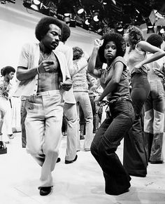 soul-train-dancers, contort and move their body all over. Funky