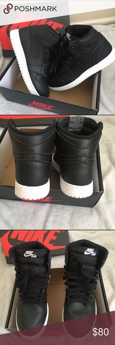 Air Jordan retro 1 cyber Monday Size 6.5Y boys or a 8 women's, they came out in 2016, they are in great condition, nothing wrong with them at all except the bottoms are slightly dirty, but you can easily clean them off, my son bought them and wore them for a while and then never used them so he wants them gone asap. I'm taking offers! Comes with original box! Nike Shoes Athletic Shoes