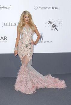 The Cannes Film Festival 2013 Red Carpet,Paris Hilton Vestidos Color Pastel, Paris Hilton Style, Palais Des Festivals, Indian Fashion Designers, Glamour, Cannes Film Festival, Festival Outfits, Festival Fashion, Red Carpet Fashion