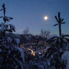 Svelgen #bremanger #winter #snow