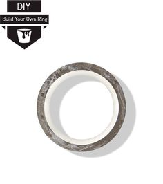 Concrete Ring, Diy Concrete, Build Your Own Ring, Diy Rings, Minimalism, Bling, Kit, Unisex, Collections