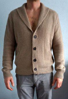 Hermes cashmere men cardigan