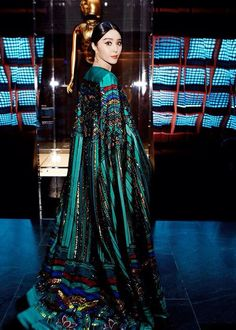Fan Bingbing in Christopher Bu
