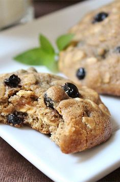 """Blueberry Oatmeal Cookies 