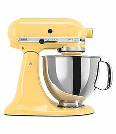 KitchenAid Artisan Majestic Yellow  5Quart TiltHead Stand Mixer #Dillards