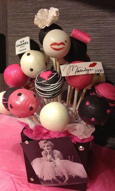 My Funny Valentine, Valentines, Birthday Bash, Birthday Parties, Birthday Ideas, Birthday Recipes, Birthday Gifts, Cake Pops, Marilyn Monroe Birthday