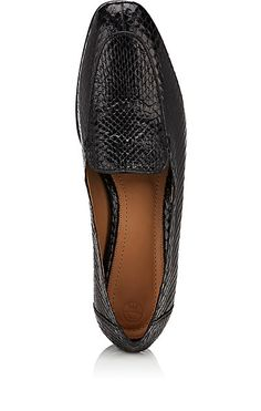 The Row Alin Snakeskin Loafers - Loafers & Oxfords - 504926330
