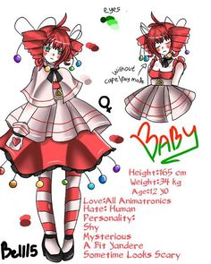 FNAF Sister Location | Baby by Bell15Yusvita on DeviantArt