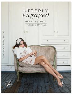 one of my favorite covers for utterly engaged mag!  photo by kat harris of mike colon. styled by jacqueline weppner of merci new york