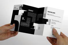 5. Budapest Architecture Film Festival Brochure by Lakosi Krisztián, via Behance
