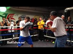 [Video] Gennady Golovkin Works The Mitts - Media Workout | BadCulture.net | by Jeandra LeBeauf