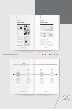 Architecture Portfolio Discover Proposal - Inara - When you need to make a great first impression a modern and elegant template like Inara has you covered. A complete business proposal document created by an experienced Portfolio Design Layouts, Graphic Design Layouts, Web Design, Design Posters, Editorial Layout, Editorial Design, Layout Inspiration, Graphic Design Inspiration, Magazine Design