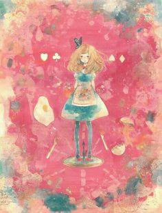 Alice aquarela