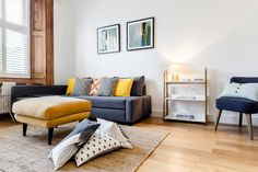 Stunning two bedroom in Notting Hill, London. Modern and nicely designed.