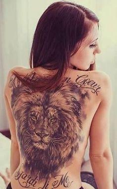 Lion Tattoos for Women | lion-tattoo-designs-for-women.jpg