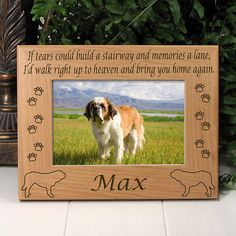 20 Best Dog Breed Photo Frames Images Dog Lover Gifts Gifts For