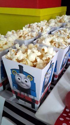 Thomas the Tank Engine Popcorn Boxes