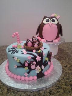 Owl Cake Owl Smash Cake