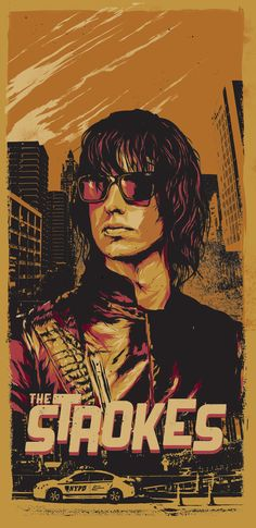 the strokes band posters