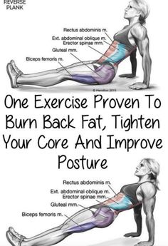 One Exercise Proven To Burn Back Fat, Tighten Your Core And Improve Posture(Vide. One Exercise Proven To Burn Back Fat, Tighten Your Core And Improve Posture(Video Tutorial) – Toned Chick Für Gesundheitstipps unter Interessante-ding. Fitness Workouts, Fitness Motivation, Sport Fitness, Fitness Diet, Yoga Fitness, At Home Workouts, Health Fitness, Fat Workout, Fitness Shirts